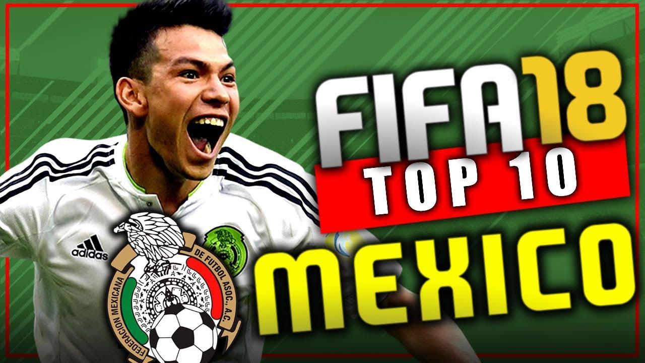 Fifa 18 top 10 jovenes promesas de mexico modo for Esteban paredes fifa 18