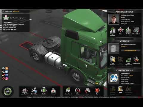 Euro Truck Simulator 2 #4 FERRY