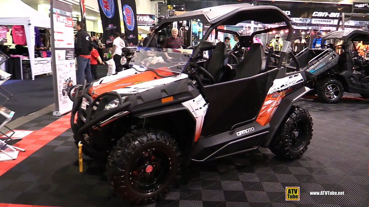 2015 Cfmoto Z Force 600 Efi Side By Side Atv Exterior