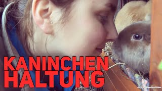 MEINE KANINCHEN HALTUNG | TIPPS | OHNE KÄFIG 🐰