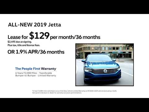 Bill Jacobs Volkswagen Carspitality TV Spot: 2019 VW Jetta Offer