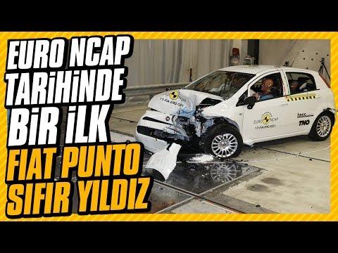 Çarpışma testinde Fiat Punto sıfır yıldız. Euro NCAP tarihinde bir ilk.