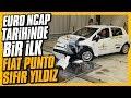 Çarp??ma testinde Fiat Punto s?f?r y?ld?z. Euro NCAP tarihinde bir ilk.