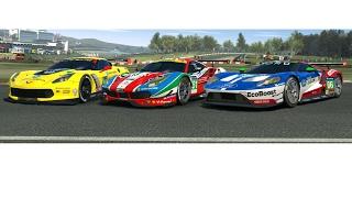 C7.R vs. Ferrari 488GTE vs. Ford GT LeMans