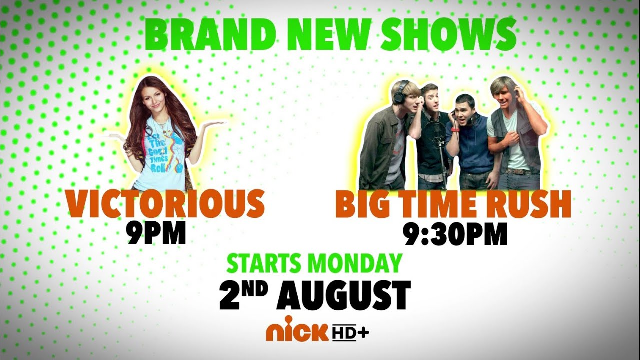 Nick HD+   VICTORiOUS & Big Time Rush   New Show