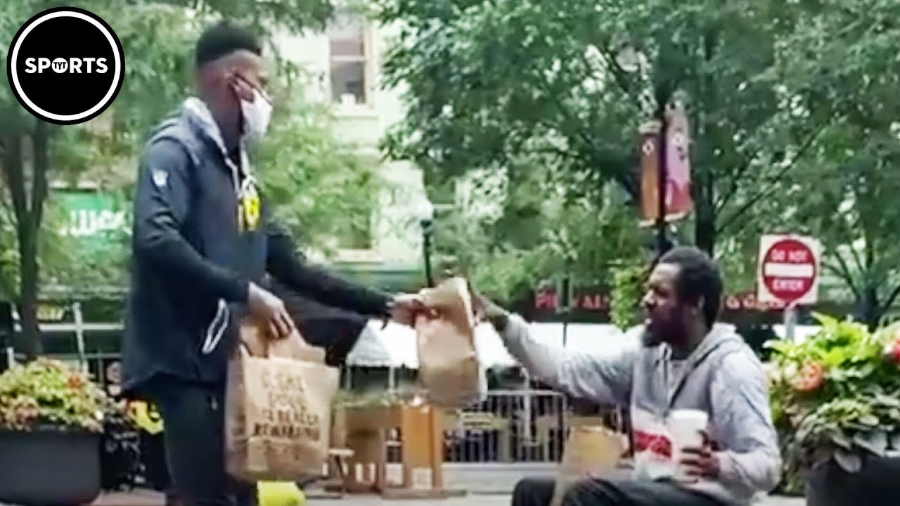JuJu Smith-Schuster's Random Act Of Kindness Caught On Video
