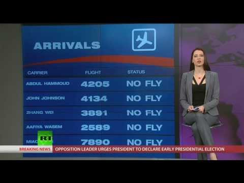 Why the No-Fly List is a Security Theater Farce | Brainwash Update