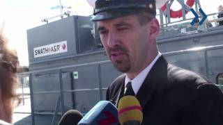 Латвийский флот получил новый патрульный корабль