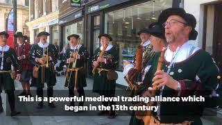 Hanse Festival Parade in King's Lynn