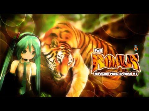 Katy Perry - Hatsune Miku English V3 - Roar (Full Cover)