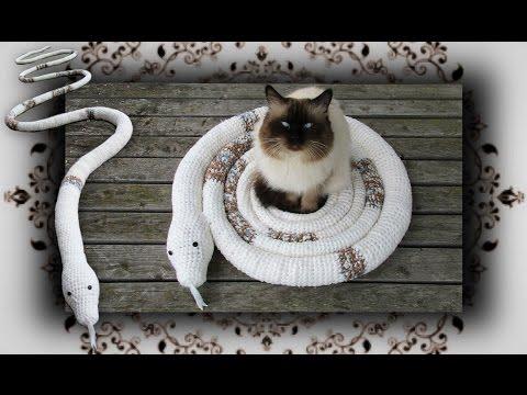 diy-😻-schlangen-schaukel-für-katzen- -snake-swing-for-cats