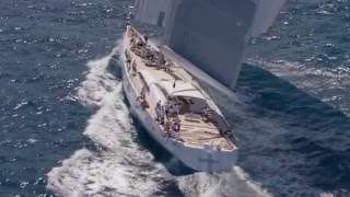 Unfurled  150ft sailing superyacht