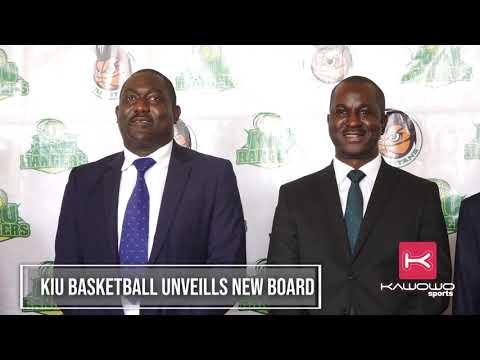 KIU Basketball unveils new board