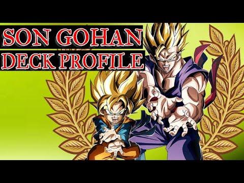 DRAGON BALL SUPER TOURNAMENT SUPER SAIYAN 2 GOHAN DECK (2019)