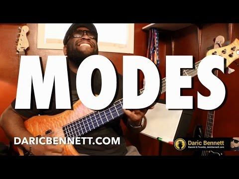 THE MODES Part 1   Bass Guitar Tips ~ Daric Bennett's Bass Lessons