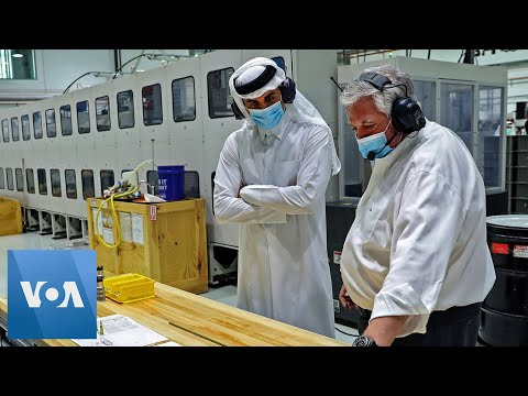 Qatar Emir Visits New Respirator Factory in Doha Amid Coronavirus Pandemic