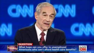 Ron Paul on healthcare CNN Florida Republican Debate 1/26/12