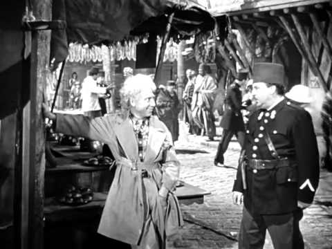 Marx Brothers (1946) Night in Casablanca [Olding up the building]