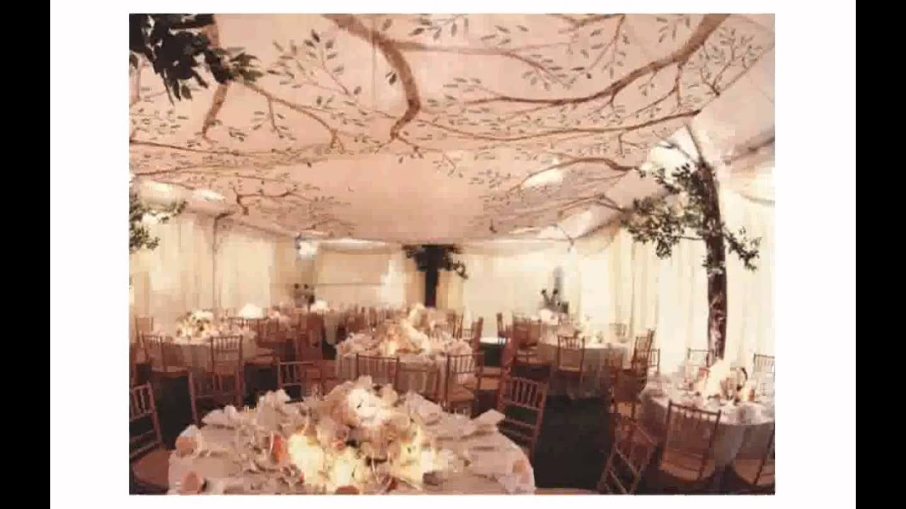 Wedding Reception Ceiling Decoration Ideas YouTube