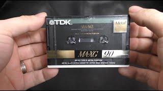 TDK MA XG 1990 Type 4 Metal Cassette TDKs Finest Hour