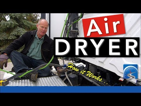 How the Air Dryer Works to Pass CDL Air Brake Pre-Trip Inspection Test