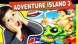 ADVENTURE ISLAND 3 - NES - Gameplay Comentado em Português