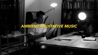 2 HOUR Study With Me | Ambient Meditative Music 🌓