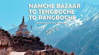 Namche Bazaar to Tengboche to Pangboche | Mount Everest base camp trek | Day 4