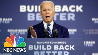 Live: Joe Biden Delivers Remarks On 2020 Economic Plan | NBC News