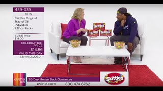 Marshawn Lynch Sells Skittles on EVINE Live