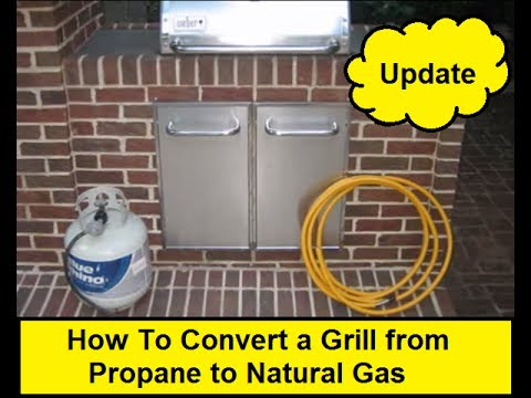 How To Convert Lp Grill To Natural Gas