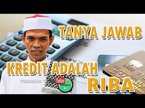 Kredit adalah Riba - Ustadz Abdul Somad Lc MA