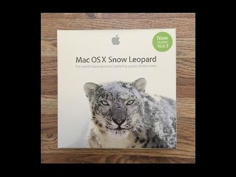Создание загрузочной флешки для Mac OS X 10.6.3 Snow Leopard - Установка  Mac OS X 10.6.3
