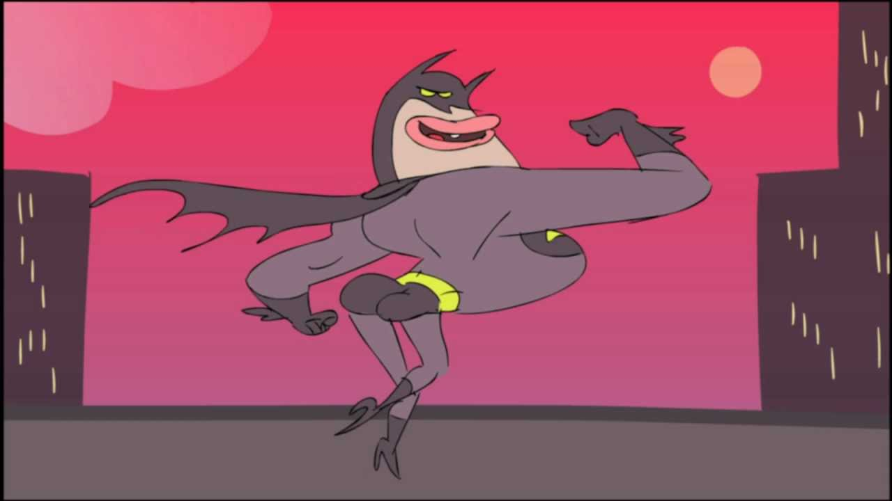 cartoon Gay batman