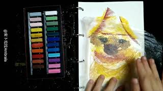 Funny Dogs with Obvious Eyebrows | Memorable Day Art Project
