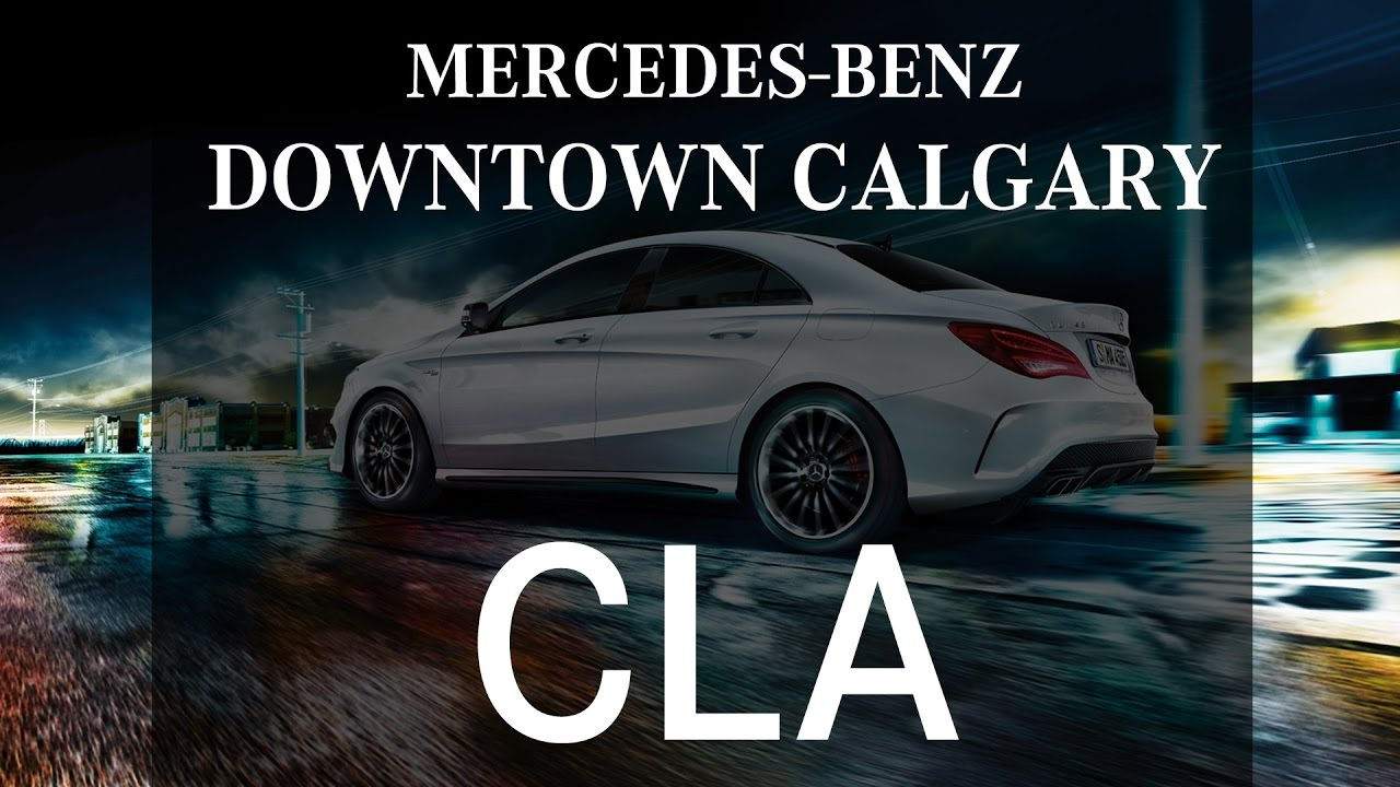 Cla 250 sports coupe mercedes benz downtown calgary for Mercedes benz downtown