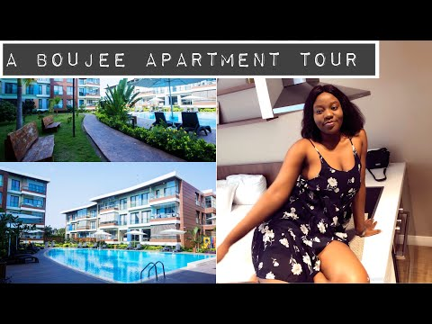 MY GHANA APARTMENT TOUR| BOUJEE ON A BUDGET