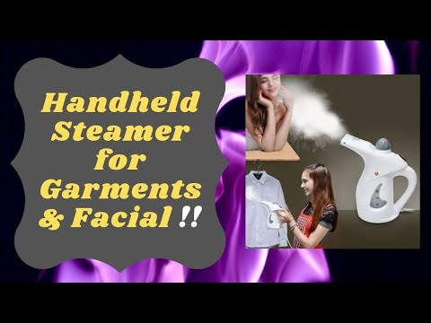 Handheld facial steamer  | Facial steamer machine |  by Upgrade India