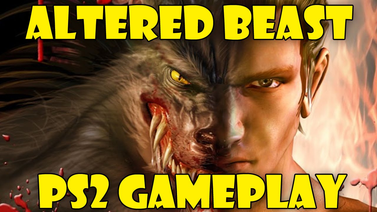 Altered Beast Playstation 2 Gameplay.