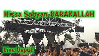 Video Nissa Sabyan BARAKALLAH Live Sawangan Depok Jawa Barat (Jabar) download MP3, 3GP, MP4, WEBM, AVI, FLV September 2018