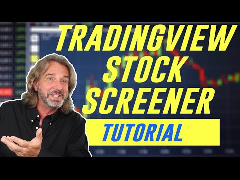 How I Use The TradingView Stock Screener to Find The Best Stocks To Trade