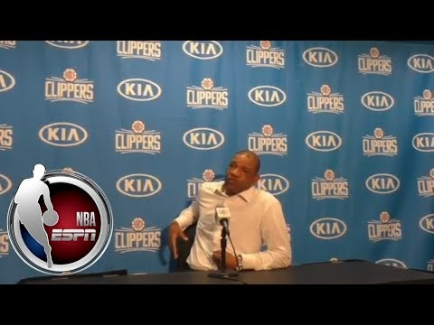 Doc Rivers: 'Coaches have to calm down' | NBA on ESPN