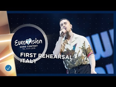 Italy 🇮🇹 - Mahmood - Soldi - First Rehearsal - Eurovision 2019