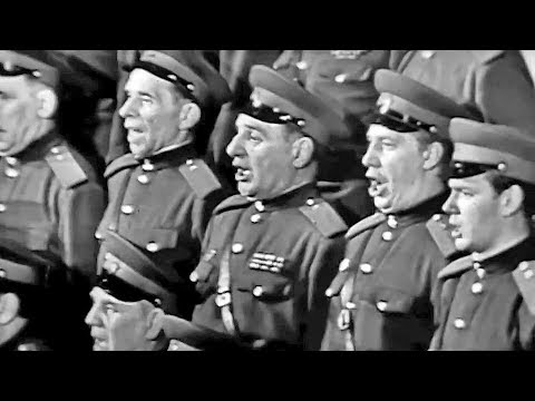 """When Soldiers Sing"" - The Alexandrov Red Army Choir (1962)"