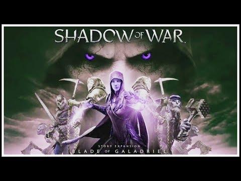Blade of Galadriel DLC GAMEPLAY reveal [Shadow of War]