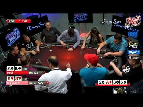 Poker Night in America | Live Stream | 8-8-15 | Turning Stone Casino - Verona, NY (1/2)