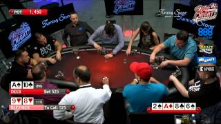 Poker Night in America | Live Stream | 8-8-15 | Turning Stone Casino - Verona, NY (1/2)