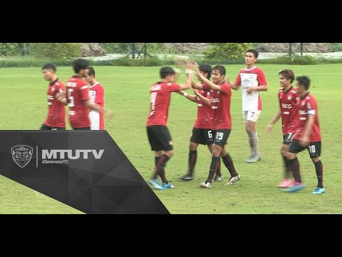 MTUTD.TV Thailand Youth League U19 เอสซีจีเมืองทองฯ 8-0 สีหมอก เอฟซี