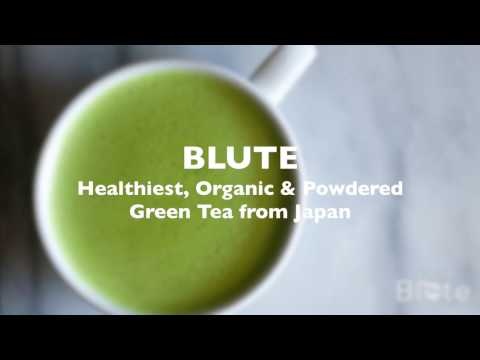 Blute - Healthiest, Organic & Powdered green tea from Japan