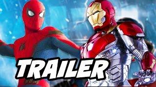 Spider Man Homecoming Trailer Breakdown